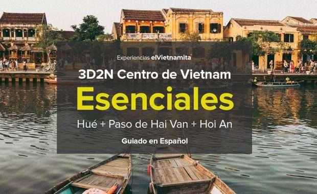 Tour en Español Centro Vietnam Esenciales